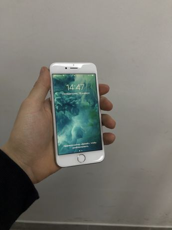iPhone 6s 64 Silver Neverlock 100% АКБ