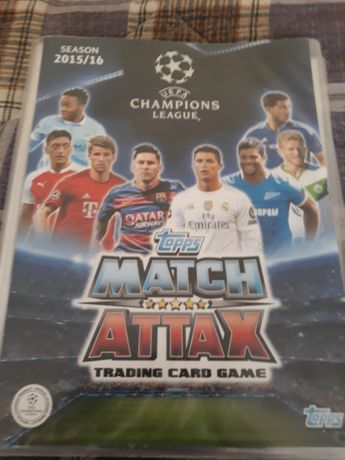 Champions league 2015-16 topps