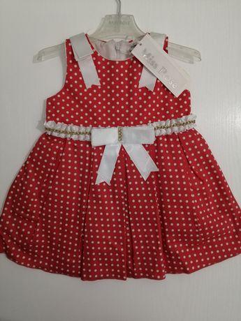 Детское платье. Очень нарядное. Размер 74/9м