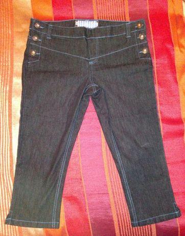 Бриджи джинсовые для беременных новые