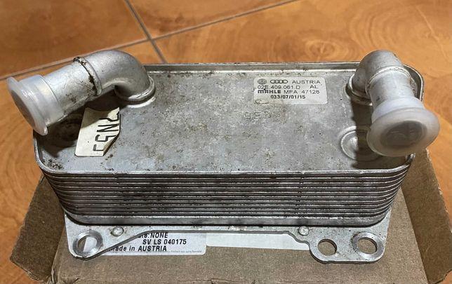 Радиатор маслянный DSG, S-Tronic 02E409061D
