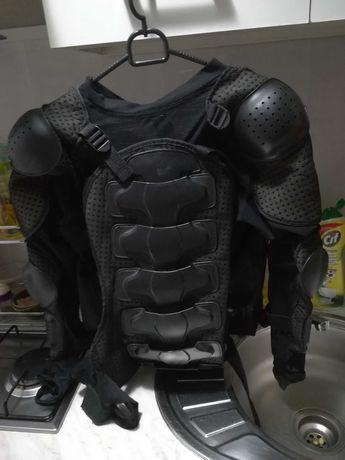 Ochraniacz pleców, motocyklowy, żółw, skorupa.
