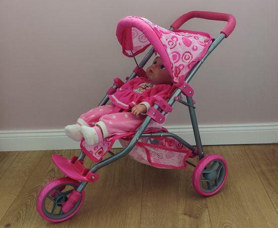 Wózek dla lalek + lalka Smiki