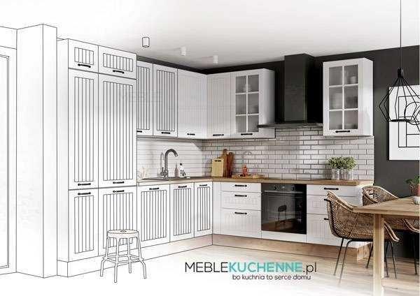 Bezpłatny Projekt Kuchni - MebleKuchenne.pl - bo kuchnia to serce domu