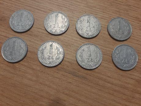 Monety 1 zł 1976 - 1986