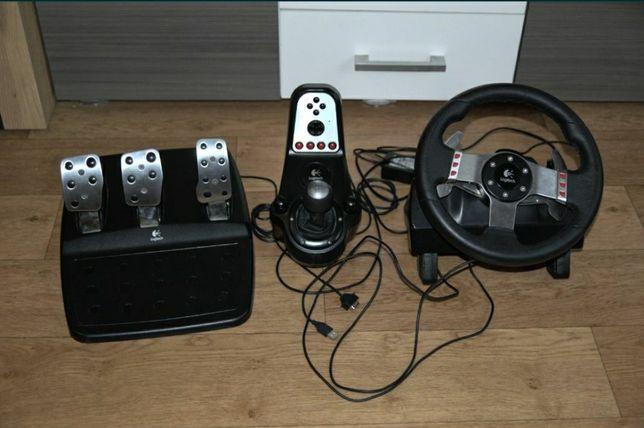 Игровой руль для компьютера Logitech g27(g25,g29)