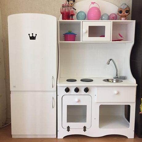 Игровая кухня для девочки, детская кухня, игровой набор