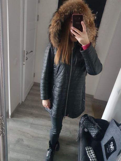 Пальто OAKWOOD кожа !!
