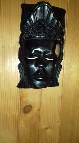Maska Afrykańska Rękodzieło Oryginalna ozdoba