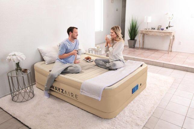 Samopompujacy się materac dmuchany łóżko gościnne 3 twardości