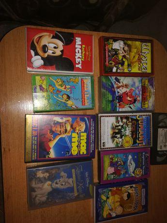 bajki VHS Kasety