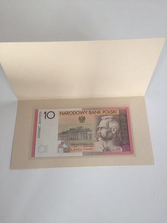 Banknot kolekcjonerski 10 zł niepodległość z etui