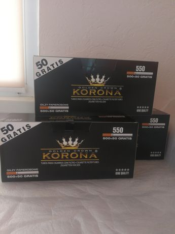 Сигаретные гильзы KORONA 500+50