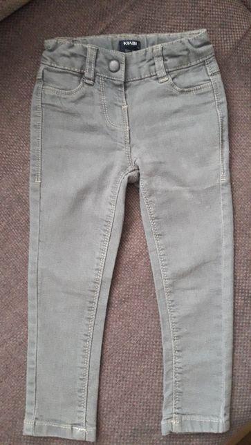 Spodnie dzinsowe dziewczęce