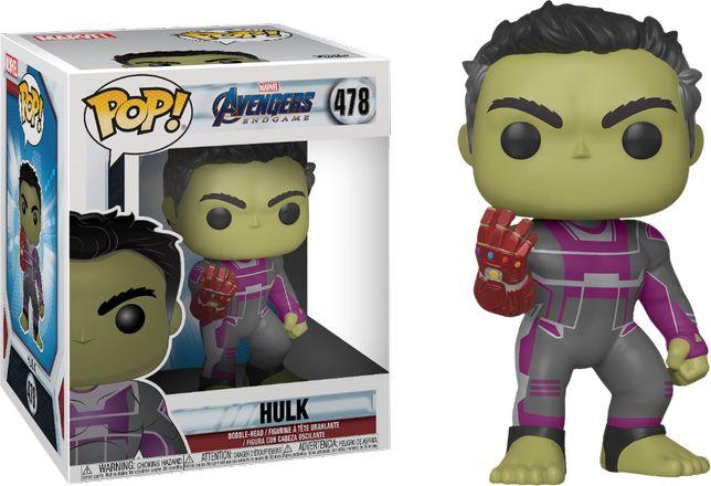 Фигурка Groot Funko Pop Marvel Avengers Endgame Hulk Spiderman Gamora