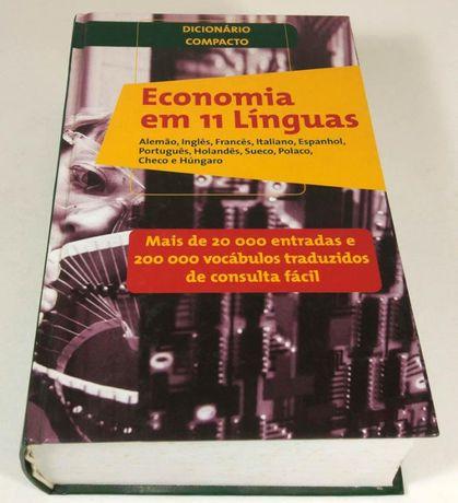 Dicionário Compacto - Economia Em 11 Línguas