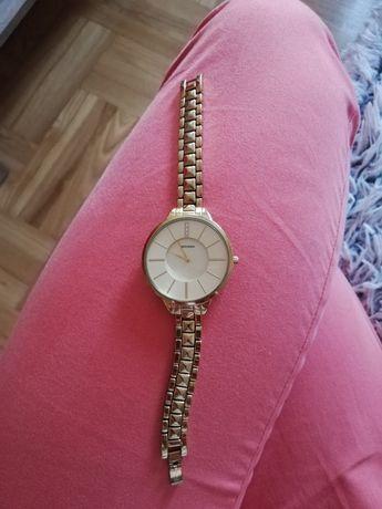 Zegarek damski złoty SEKONDA 2014 AHT elegancki