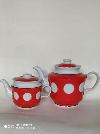Чайники Горох Тернопольский фарфоровый завод СССР