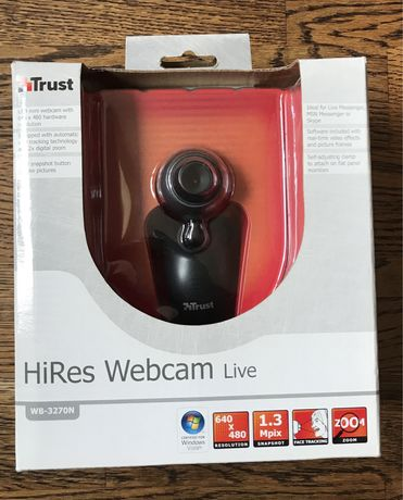 Trust hires webcam live wb-3270N