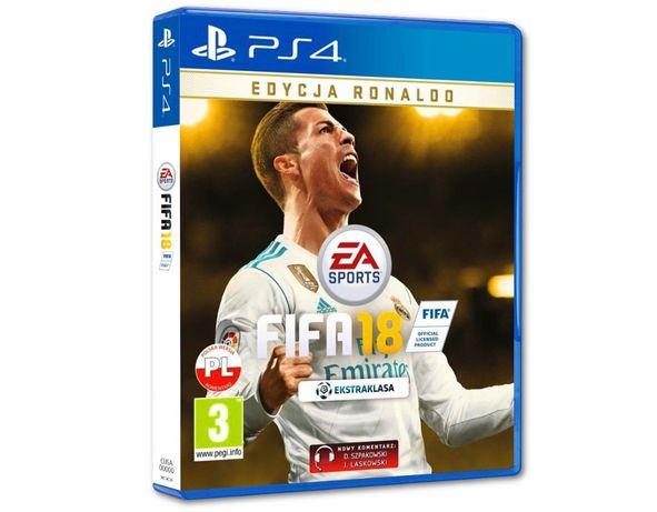 FIFA 2018 edycja Ronaldo! PS 4