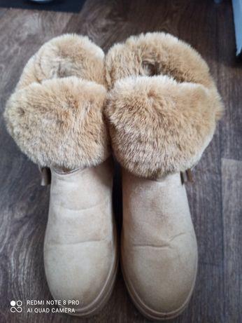 Ботинки зимние в хорошем состоянии