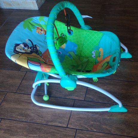 Шезлонг детский. Кресло-качалка детская Bright stars Safari.
