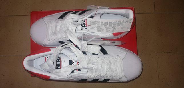 Ténis Adidas Superstar X Run Dmc