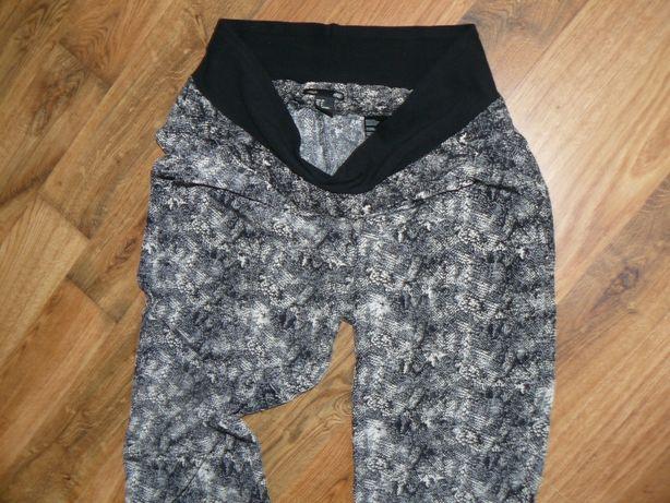 Spodnie H&M Mama 38 Wzór Wężowy jNowe
