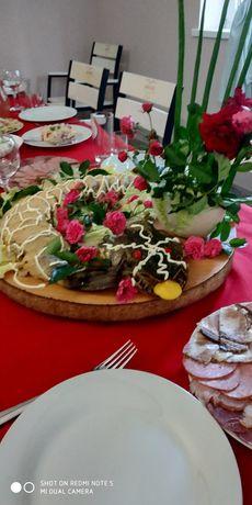 Щука фаршированная королева стола и все банкетные блюда