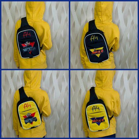 Сумка-слім дитяча через плече, рюкзак, з Владом А4 А 4 Влад роздрі опт
