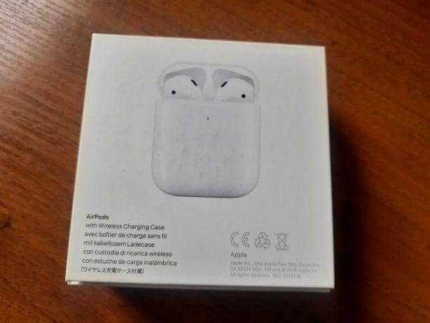 Наушники Apple AirPods 2 (2019) MRXJ2 Wireless Charging Case