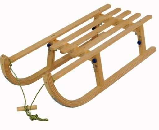 Sanki drewniane solidne