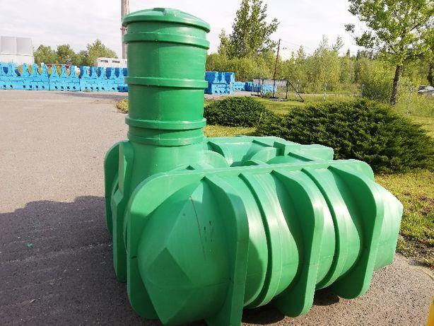 Zbiornik 3000 woda deszczówka gruby solidny najazdowy 4000 wys.110 cm