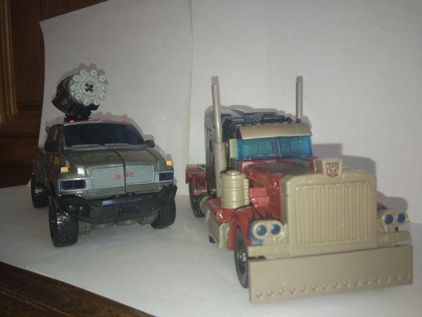 Машинки Трансформеры Hasbro Оптимус Прайм и Айронхайд