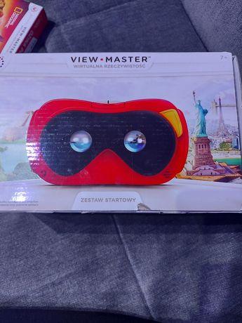 View -master wirtualna rzeczywistość  zestaw startowy i rozszerzenie
