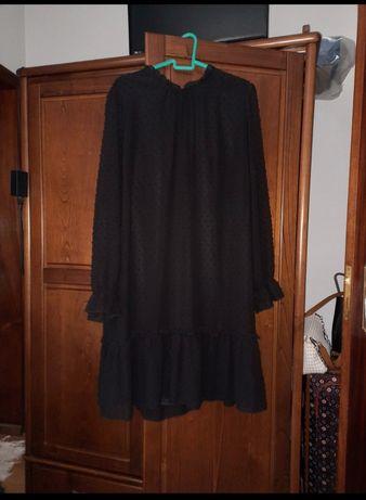 Vestido preto casual/cerimônia