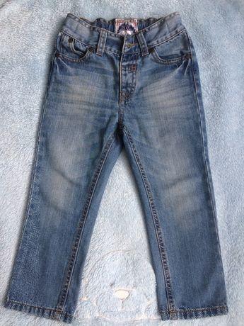 Jeansy chłopięce 98cm