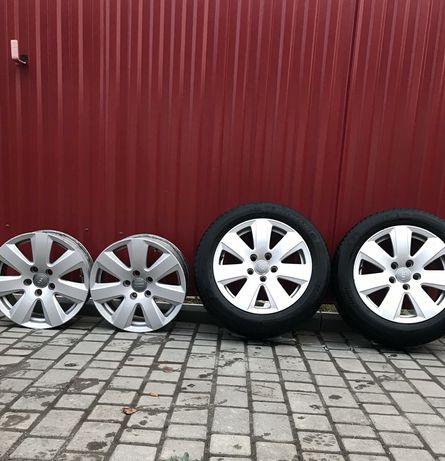 Диски wv Audi Skoda r16