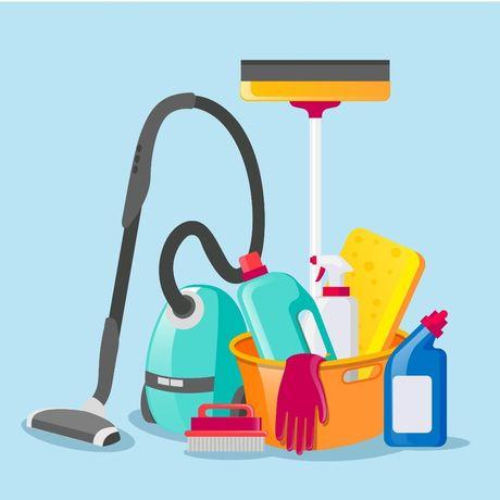 Sprzątanie domów, mieszkań
