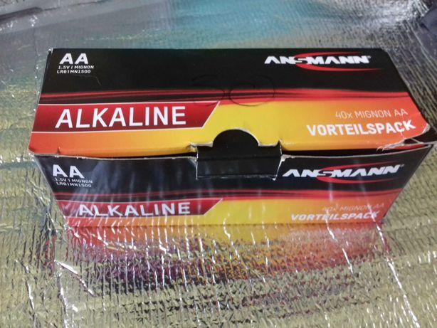 Nowe Baterie AA Firmy Ansmann Alkaline