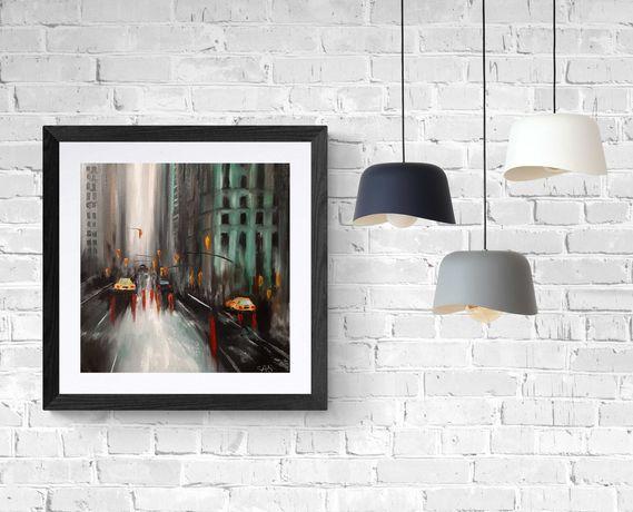 Картина маслом/город