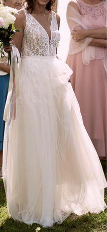 Suknia ślubna boho Sylwia Kopczyńska