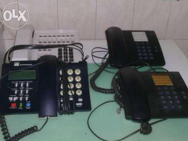 Vendo Centrais telefónicas e telefones