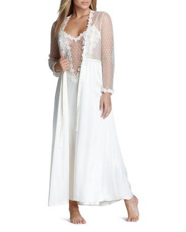 Флора никройз S, 36, 44 ночная рубашка пеньюар платье и халат комплект