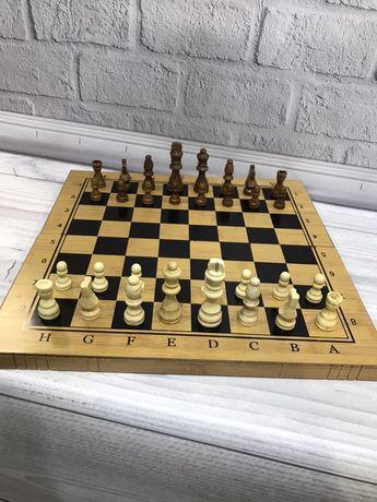 Новые. Деревянные шахматы. Нарды качественные. 3в1