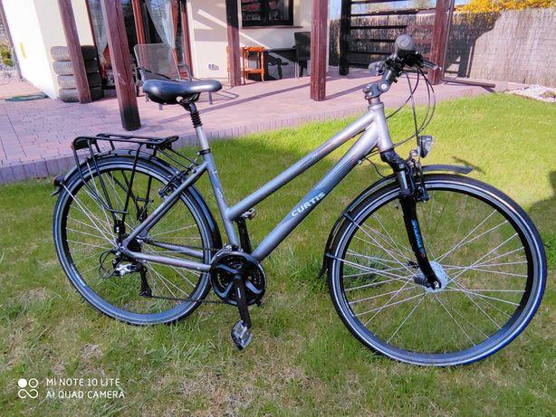 rower damski trekingowy Curtis TRE Deore XT Suntour CR
