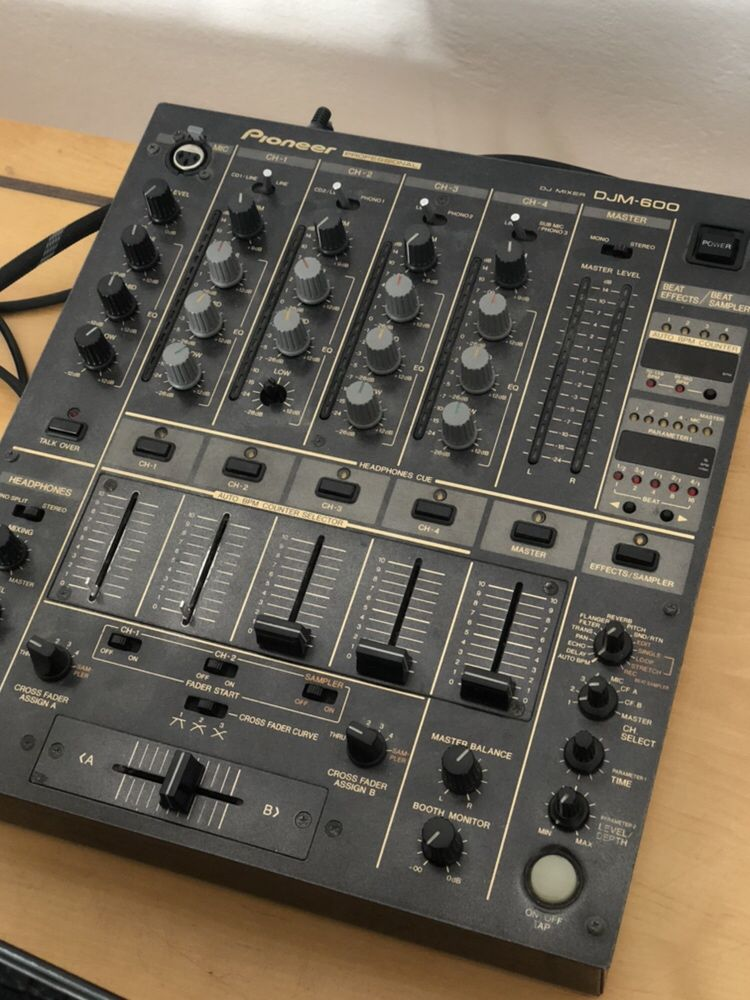 PIONEER DJM600 mikser mixer dj didżejski DJM 600 legendarny