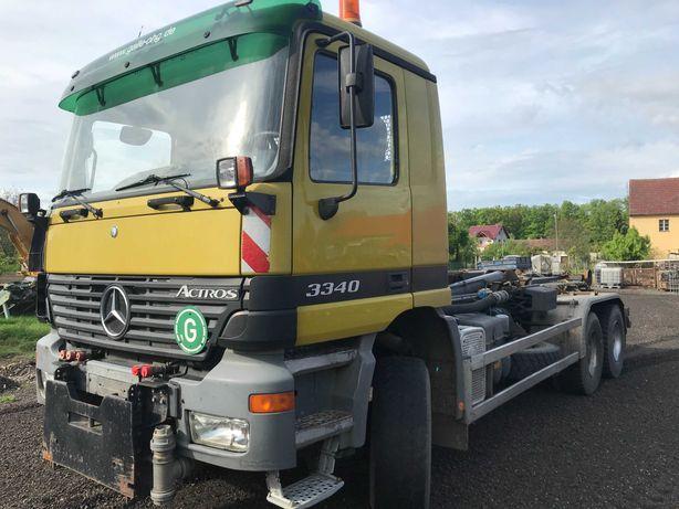 Mercedes Actros 3340 napęd 6x6 hakowiec z Niemiec