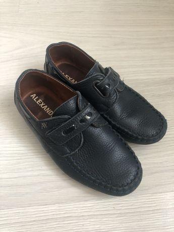 Кожаные туфли на мальчика, р.32