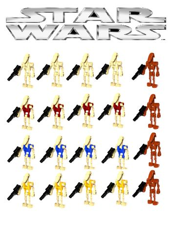 Bonecos minifiguras Star Wars nº40 (compativel com lego)